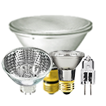 Halogen light bulbs - Category Image