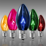 Multi-Color C9 Incandescent Christmas Light Bulbs - Category Image
