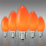 Amber-Orange C9 Christmas Light Bulbs - Category Image