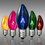 Multi-Color C7 Incandescent Christmas Light Bulbs - Category Image
