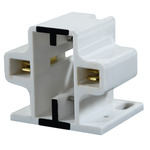 13 Watt  2 Pin CFL GX23 and GX23-2 Fluorescent Sockets