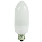 7 Watt Medium Base CFL Compact Fluorescent Decorative Lights - Category Image