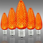 Amber-Orange LED Christmas Bulbs - Category Image