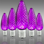 Purple LED Christmas Bulbs - Category Image