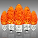 Amber-Orange C7 LED Christmas Light Bulbs