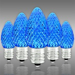 Blue C7 LED Christmas Light Bulbs - Category Image