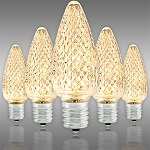 Warm White C9 LED Christmas Light Bulbs
