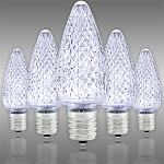 Cool White C9 LED Christmas Light Bulbs - Category Image