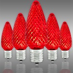 Red C9 LED Christmas Light Bulbs - Category Image