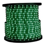Green Rope Light - 120V Spools