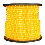 Yellow Rope Light - 120V Spools