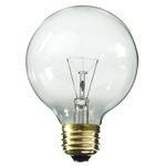 100 Watt G25  Decorative Globe Incandescent Light Bulbs - Category Image