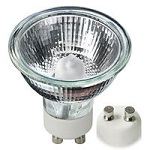 20 Watt GU10 Base Halogen Light Bulbs