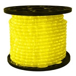 Yellow - LED Rope Light - 120V Spools
