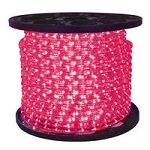 Pink - LED Rope Light - 120V Spools - Category Image