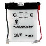 6 Volt Conventional Lead-Acid Motorcycle Batteries - Category Image