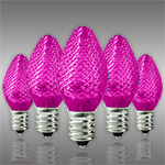 Pink C7 LED Replacement Christmas Light Bulbs - Category Image
