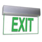 900 Series Edge Lit Exit Signs