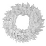 Sparkle White Spruce Christmas Wreaths - Category Image