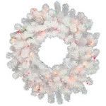 Crystal White Christmas Wreaths - Category Image