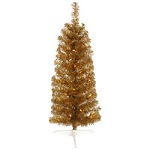 (INACTIVE) Antique Gold Pencil Christmas Trees - Category Image