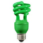 Green Colored Compact Fluorescents