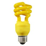 Yellow Colored Compact Fluorescents