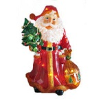 Lighted Christmas Santa Claus