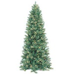 Slim Cashmere Fir Christmas Trees