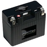 6 Volt Lithium Iron Phosphate (LiFePO4) Motorcycle Batteries