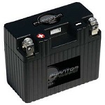 12 Volt Lithium Iron Phosphate (LiFePO4) Motorcycle Batteries