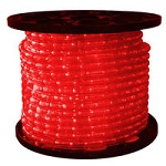 Red - LED Rope Light - 3/8 in. - 120V