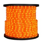 Amber Rope Light - 1/2 in. - 120V