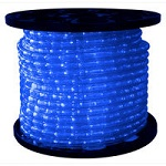 Blue - LED Rope Light - 3/8 in. - 120V