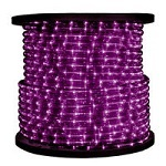 Purple Rope Light - 3/8 in. - 120V - Category Image