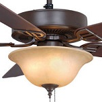 Bronze Ceiling Fans with Lights