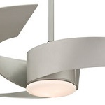 Gray Ceiling Fans with Lights