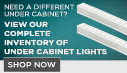 Under Cabinet Lighting Ad