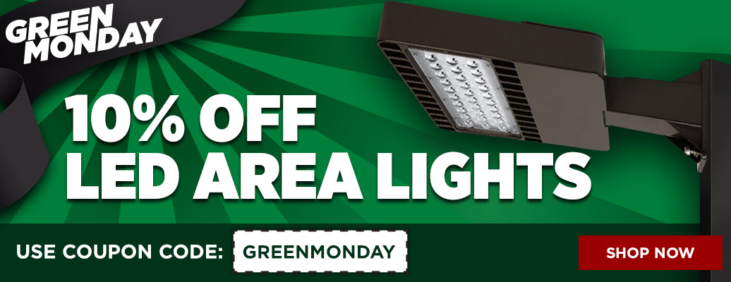 10% Off LED Area Lights