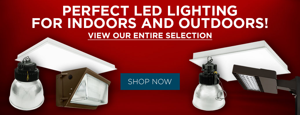LED Lighting for Indoors and Outdoors