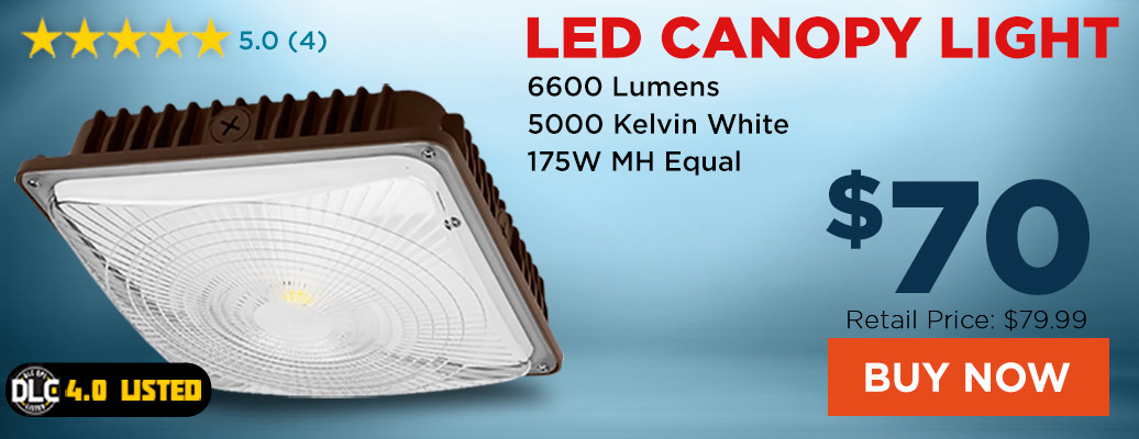 Top Selling LED Canopy Light for only $70