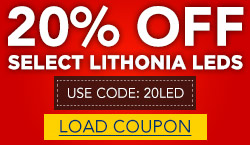 20% off Select Items from Lithonia