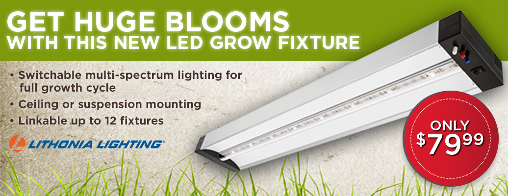 New LED Grow Fixture Only $79.99
