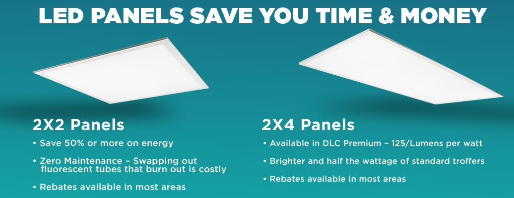 LED Panels Save You Time and Money