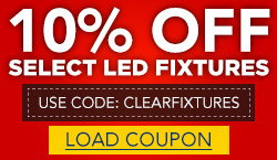 10% Off Select LED Fixtures