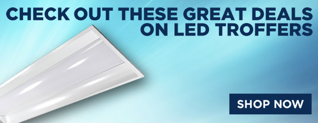 Great Deals On LED Troffers