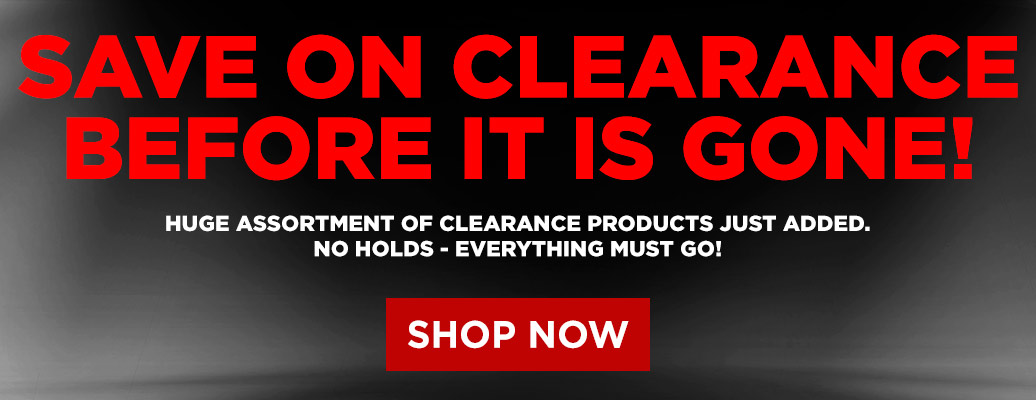 Save on Clearance before it is gone