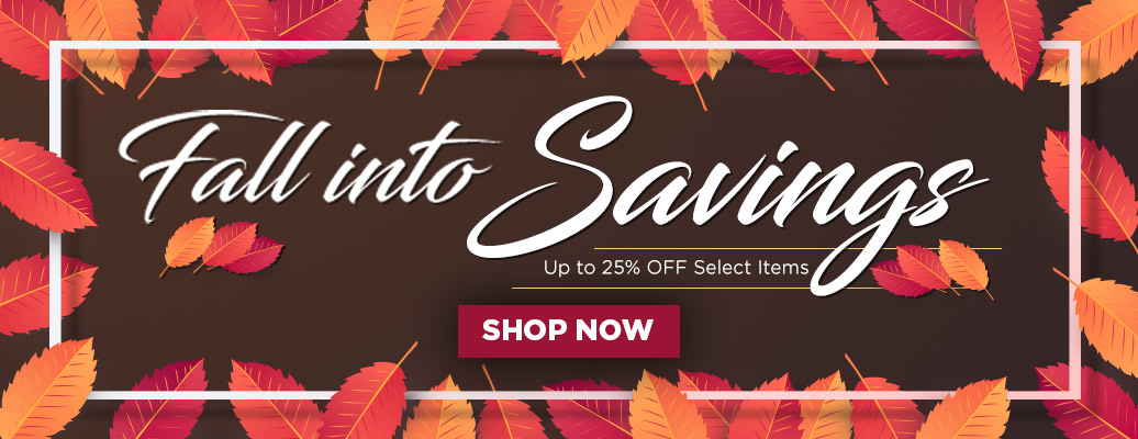 Fall into Savings! Save up to 25% on Select LED Lights!