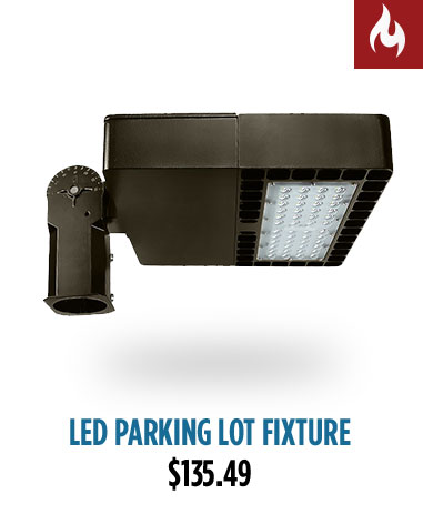 LED Parking Lot Fixture
