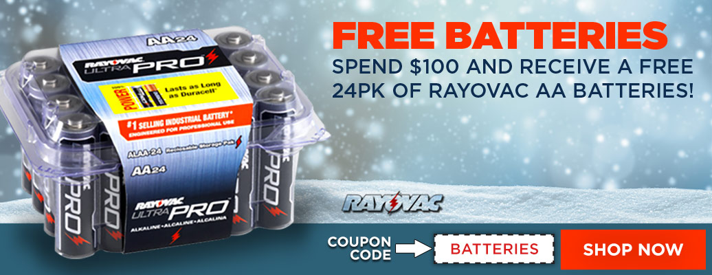 Free Batteries with purchase